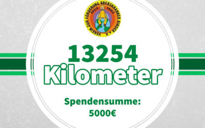 "Spendenlauf ""Jeder Kilometer zählt"""